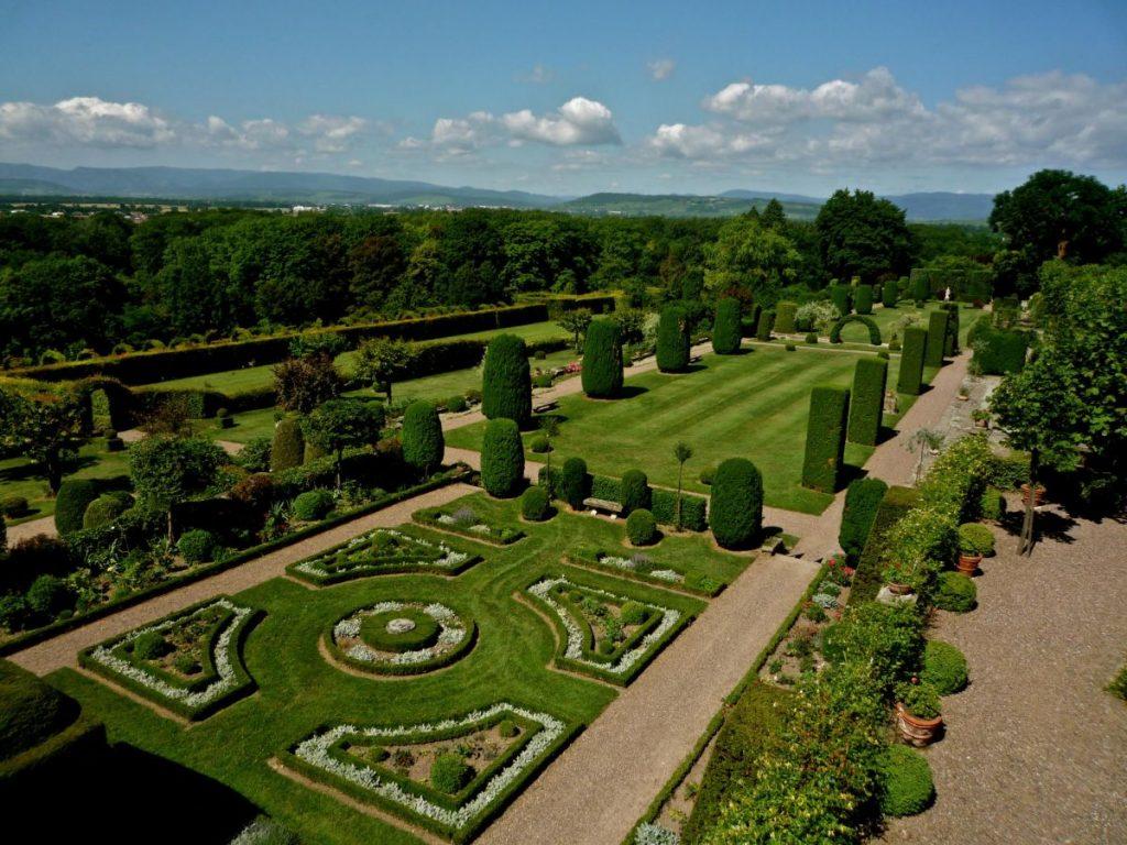 Les jardins du château de Kolbsheim